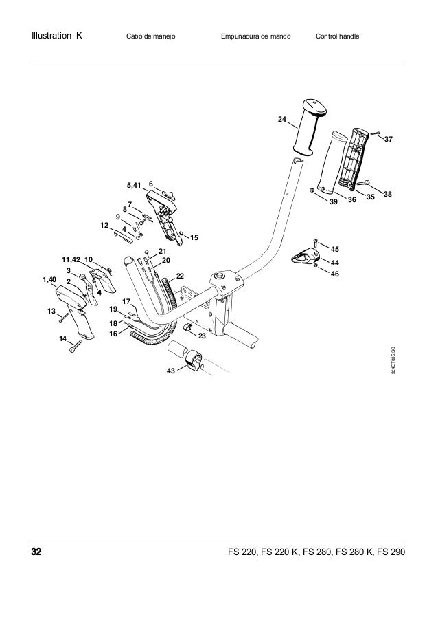 Manual sthil fs220 280-290