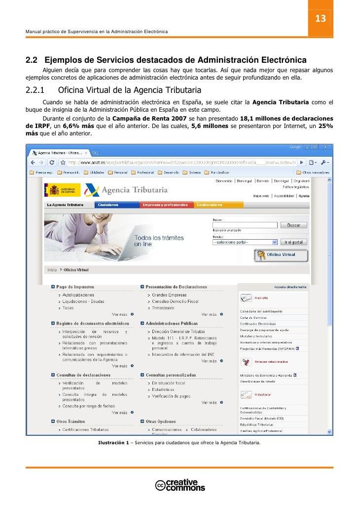 15 Manual práctico de Supervivencia en la Administración Electrónica           Hasta la fecha uno de los grandes problemas...