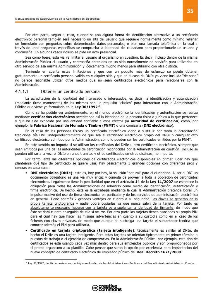 37 Manual práctico de Supervivencia en la Administración Electrónica            4. Finalizada la fase de gestión documenta...