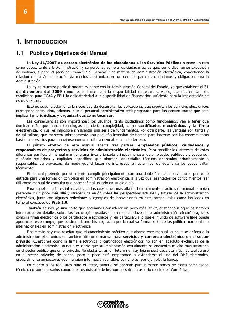 6                                                               Manual práctico de Supervivencia en la Administración Elec...