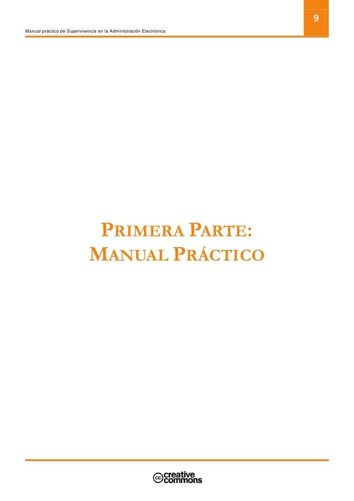 11 Manual práctico de Supervivencia en la Administración Electrónica     2. CONCEPTOS BÁSICOS Y EJEMPLOS DE ADMINISTRACIÓN...