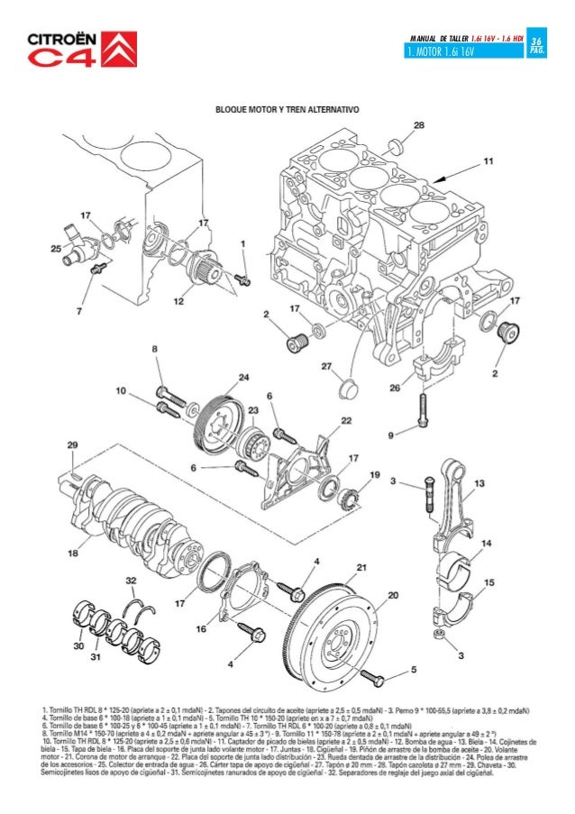 16 Hdi Engine Diagram