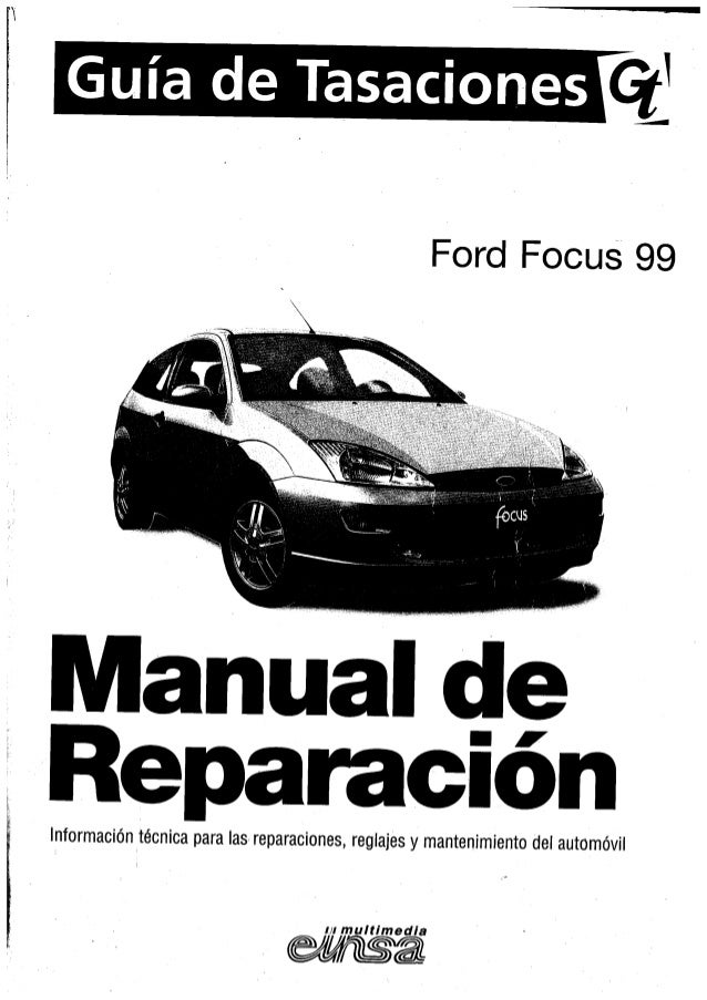 manual taller ford focus mk1 1999 rh slideshare net 2017 Ford Fiesta 2003 Ford Fiesta
