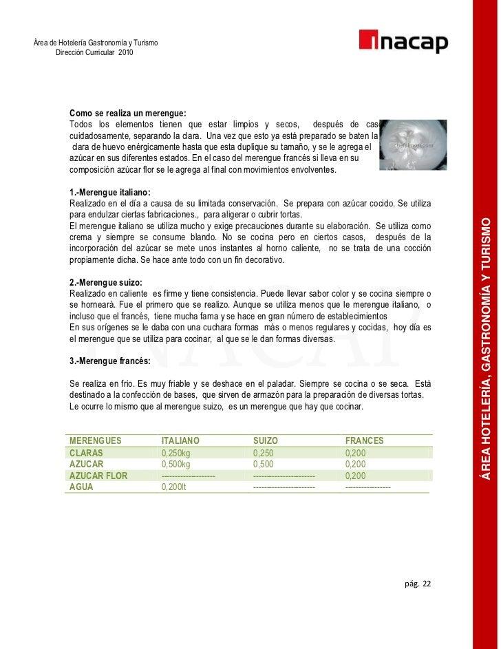 Manual taller semestre pastelería i