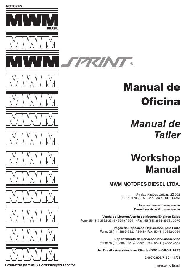 Manual taller sprint
