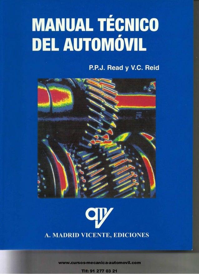 www.cursos-mecanica-automovil.com Tlf: 91 277 03 21