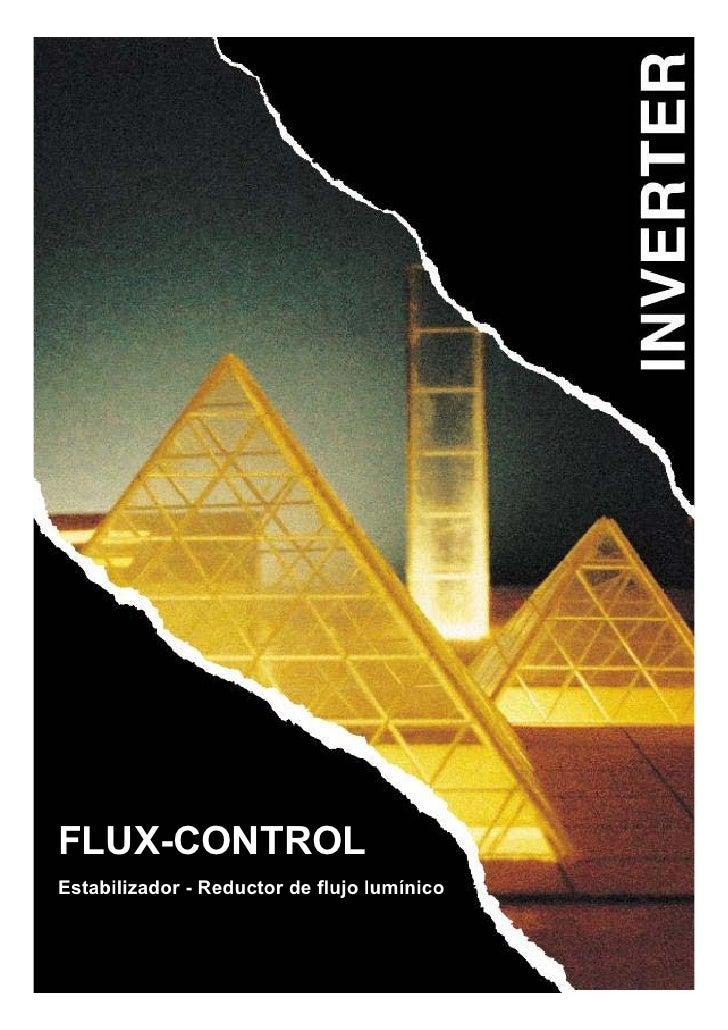 Manual teoría reductor de flujo