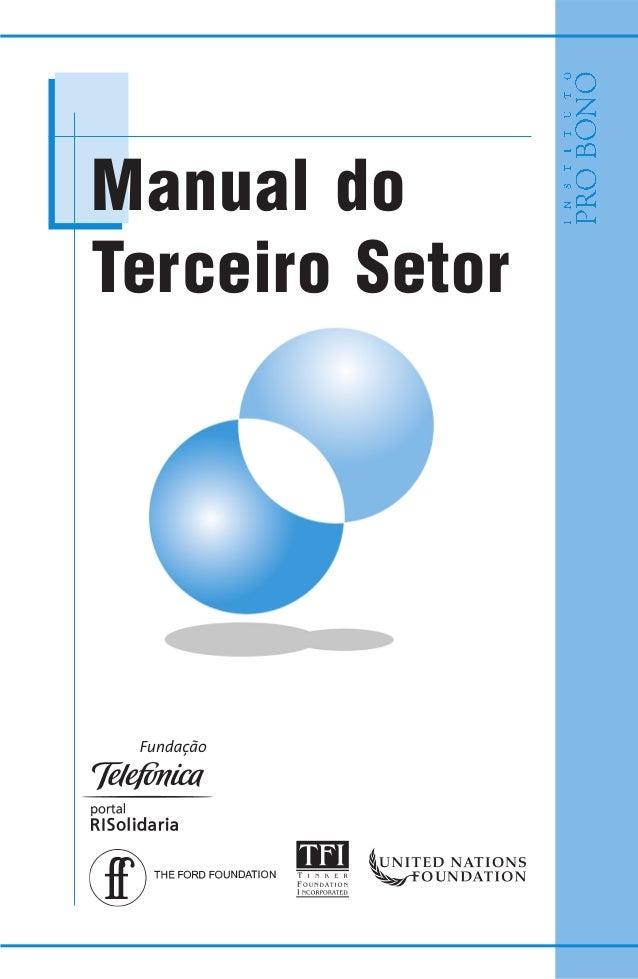 Manual do Terceiro Setor
