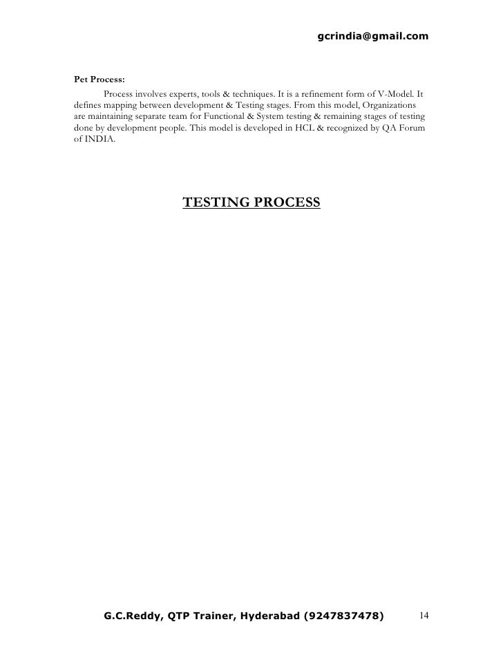 manual testing rh slideshare net manual testing interview questions forum Manual Testing Resume Sample