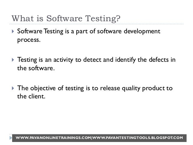 what is manual software testing