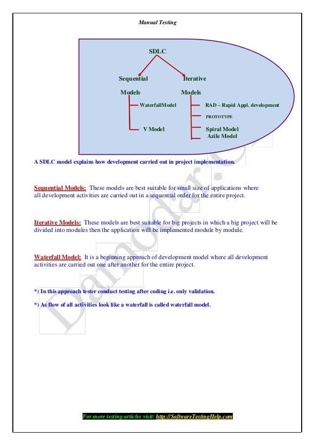 manual testing help e book by softwaretestinghelp com