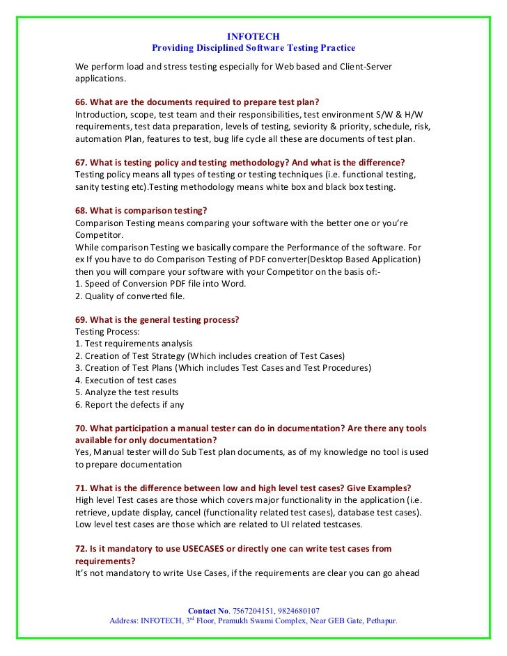 manual database testing interview questions user guide manual that