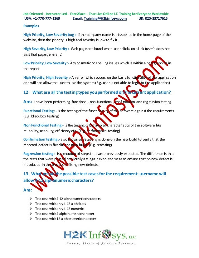 manual testing interview questions and answers pdf