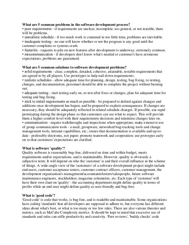 Software Testing Interview Questions and Answers PDF