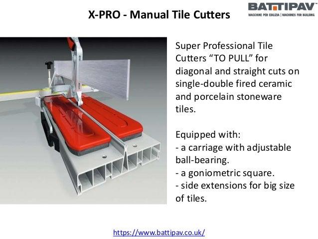 Manual Tile Cutter - BATTIPAV