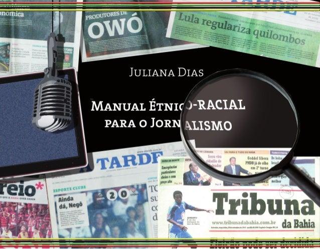 Manual Étnico-racial  para o Jornalismo