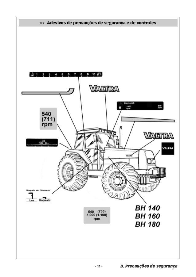 Manual trator valtra bh 180 Valtra bh t