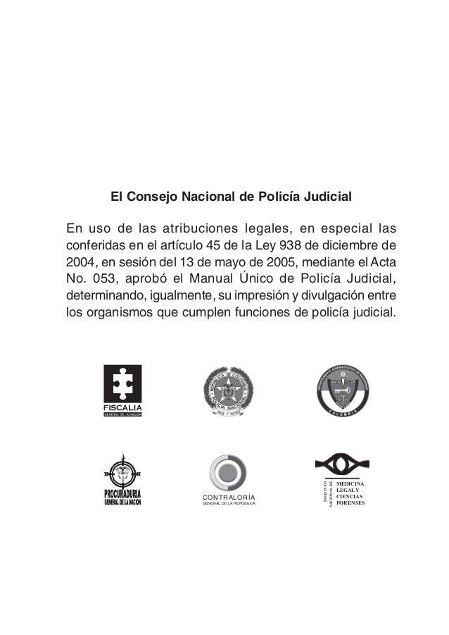 Manual de pj – gestión legal & criminalística.