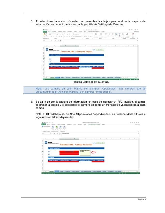 Manual usuario convertidor Contabilidad Electronica del SAT