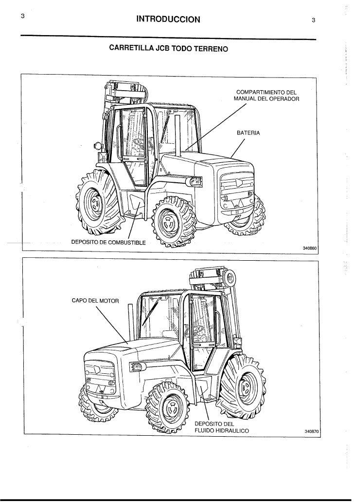 Manual usuario jcb 926; 930