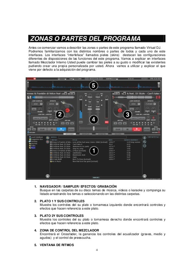 efectos para virtual dj 8 electronica