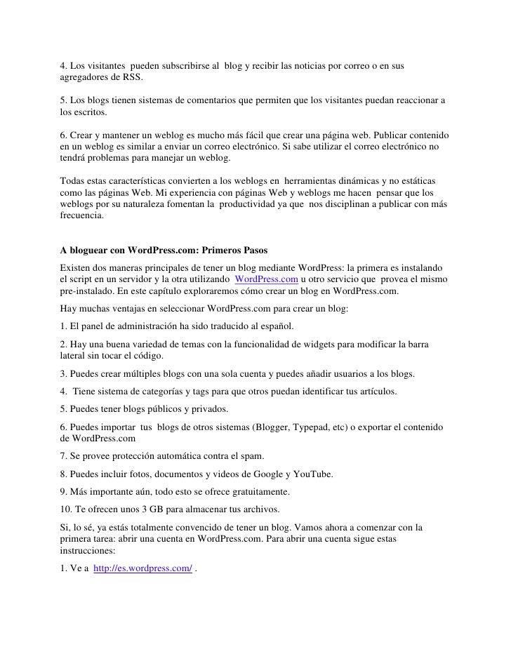 Manual de Wordpress.com