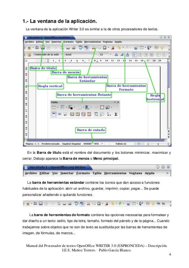 open office 4.1 3 manual