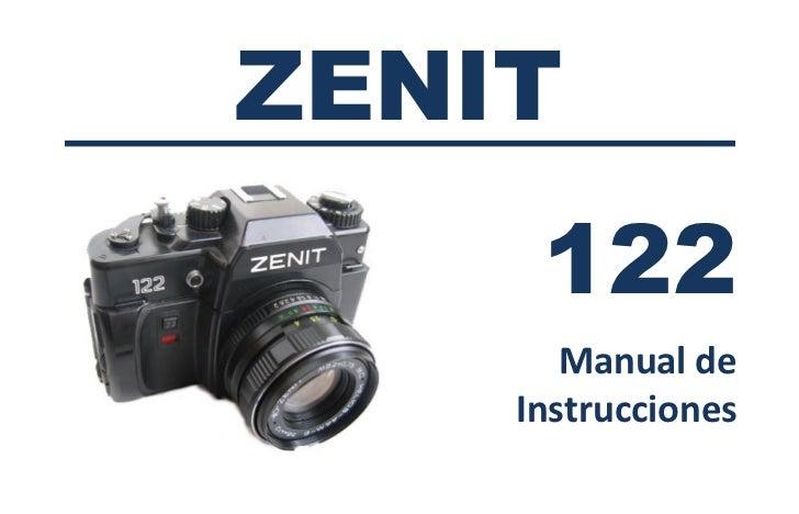 ZENIT     122       Manual de    Instrucciones