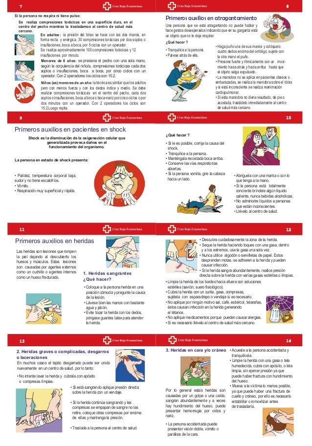 manual primeros auxilios cruz roja española pdf
