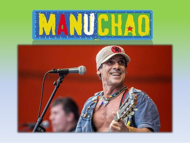 Bonjour les amis ! Aujourd'hui je vous présente mon chanteur préféré. ll s'appelle Manu Chao et il est espagnol. Il est pe...