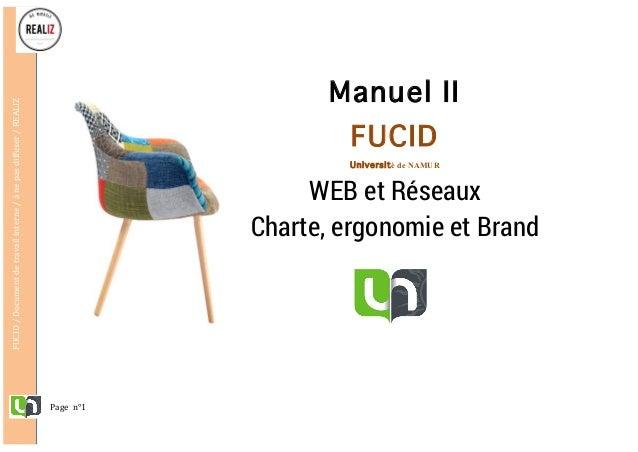 Pagen°1 FUCID/Documentdetravailinterne/ànepasdiffuser/REALIZ     Manuel II FUCID Université de NAMUR W...