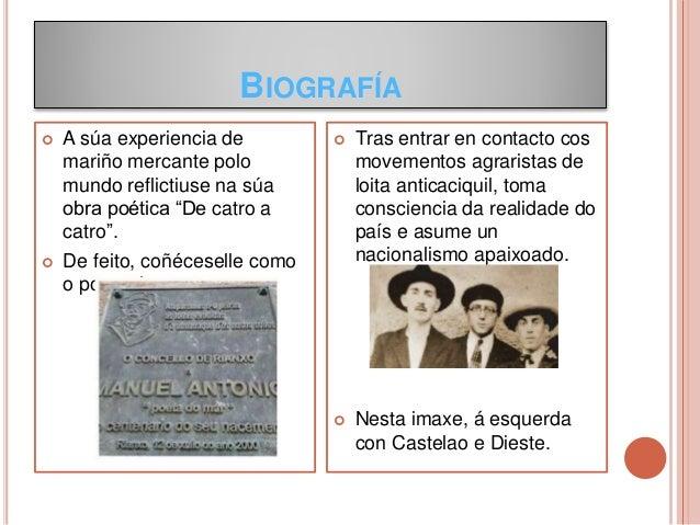 Manuel Antonio, traballo de Ánxela e Telmo Slide 3