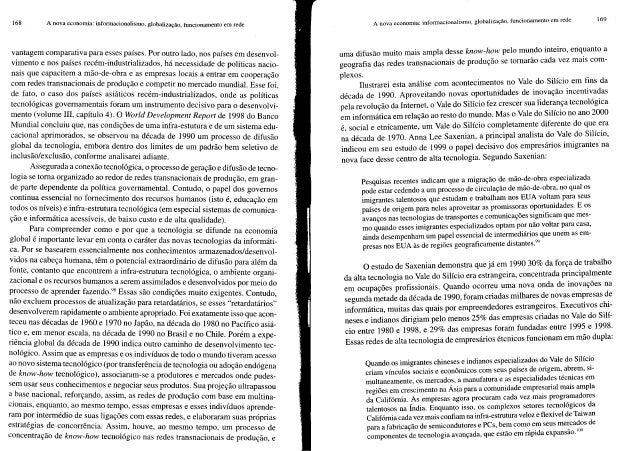 A sociedade em rede   vol. I - Manuel Castells