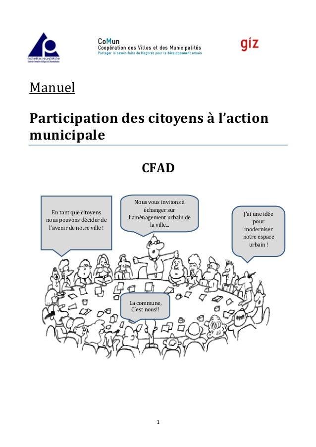 Participation Des Citoyens A L Action Municipale