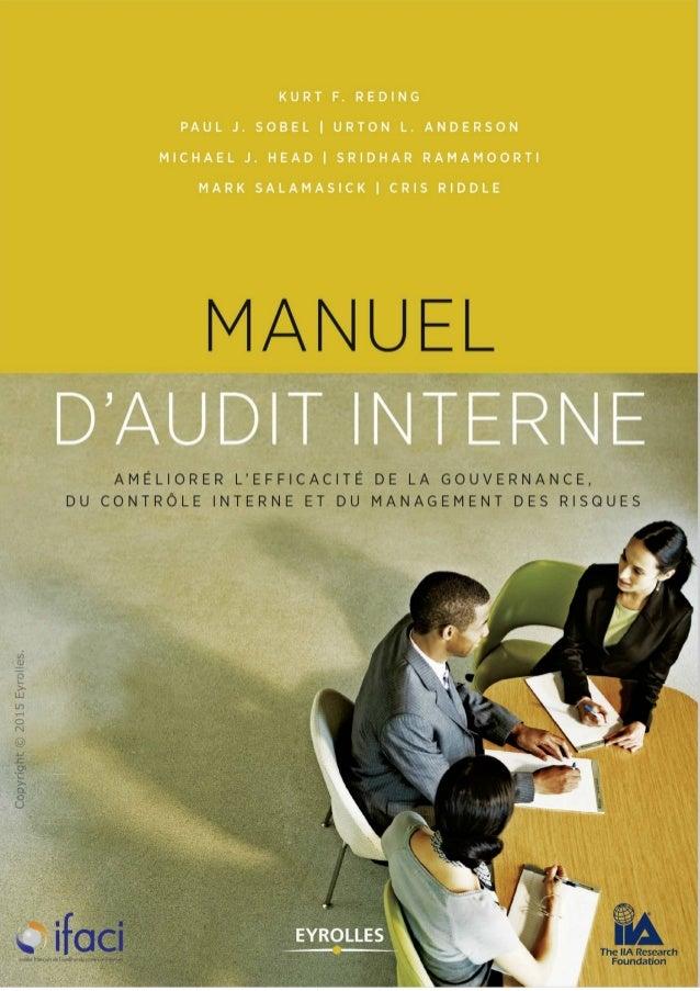 Manuel d'audit interne à télécharger Gratuitement sur www.coursdefsjes.com