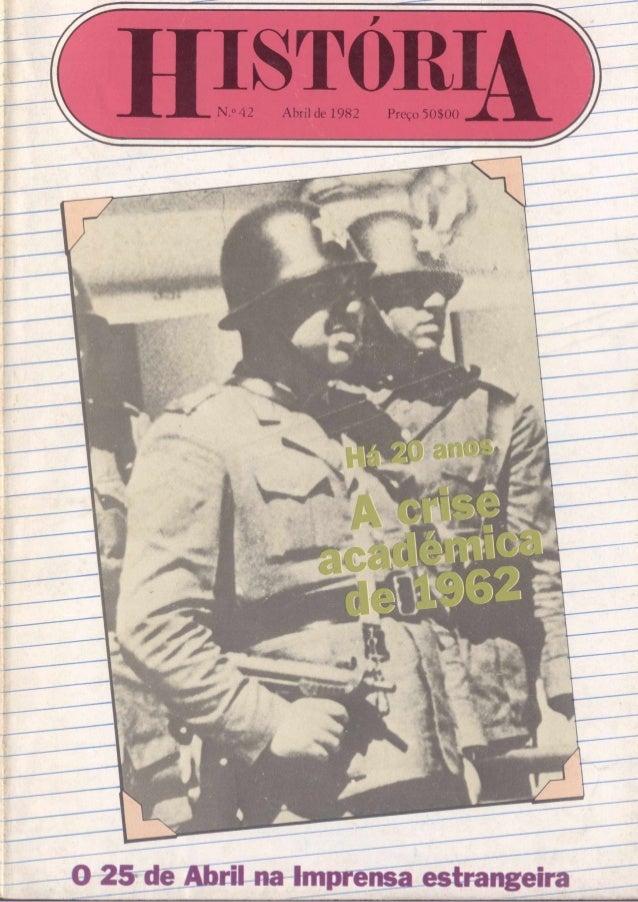 N.o 42 Abril de 1982 Preço 50100