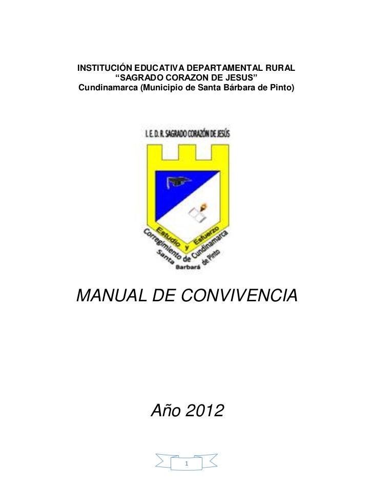 """INSTITUCIÓN EDUCATIVA DEPARTAMENTAL RURAL        """"SAGRADO CORAZON DE JESUS""""Cundinamarca (Municipio de Santa Bárbara de Pin..."""
