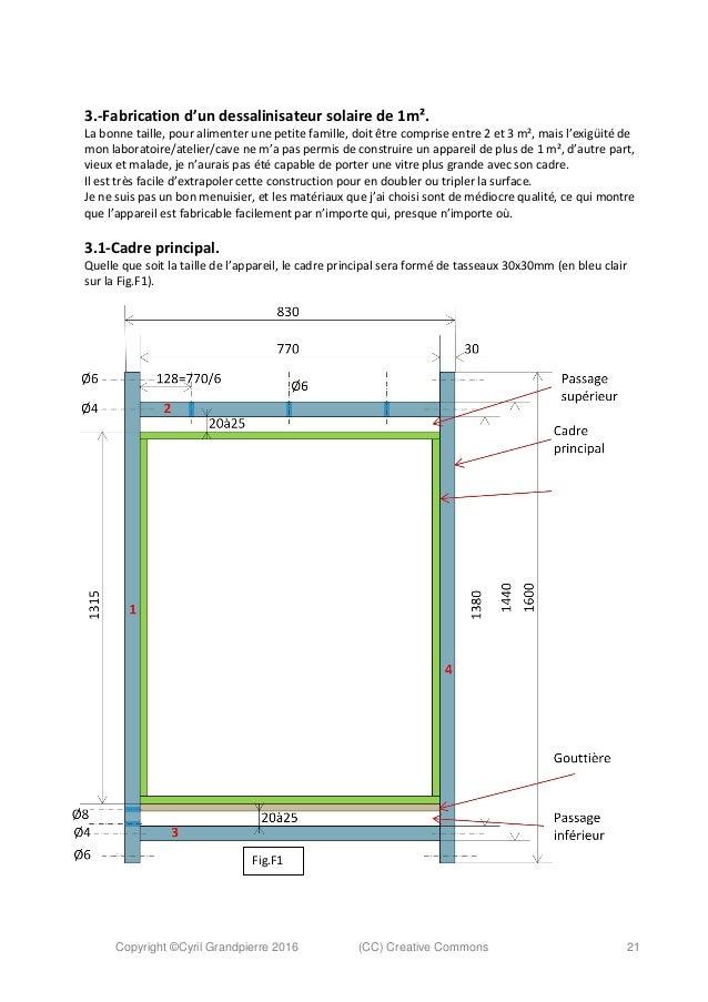 fabrication d 39 un dessalinisateur solaire simple et tr s efficace. Black Bedroom Furniture Sets. Home Design Ideas