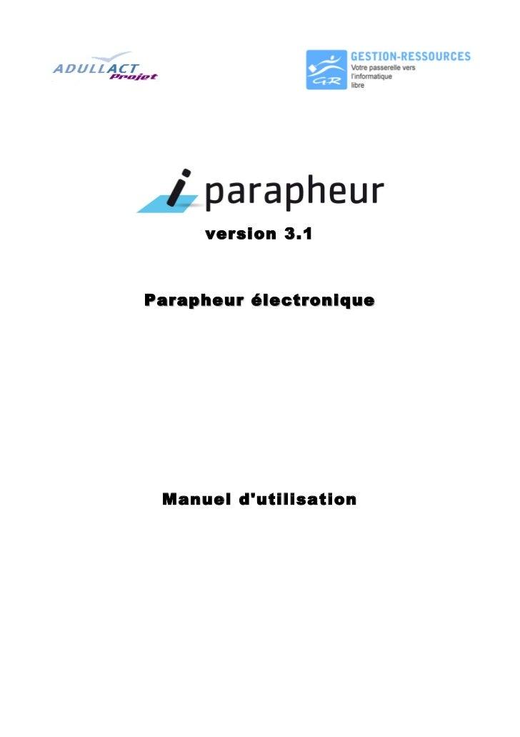 Manuel i parapheur-v3.1