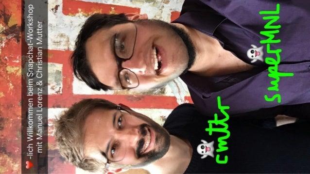 Add uns bei Snapchat – und finde heraus, was du dort machen kannst! hellobild