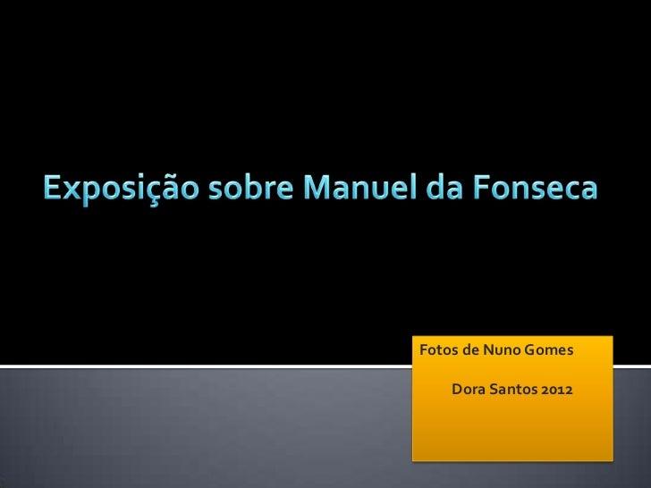 Fotos de Nuno Gomes    Dora Santos 2012