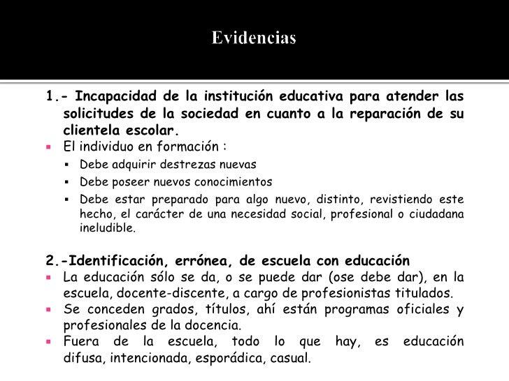 ACTIVIDADES EXTRAESCOLARES, EDUCACIÓN NO FORMAL Y CURRÍCULUM PARALELO