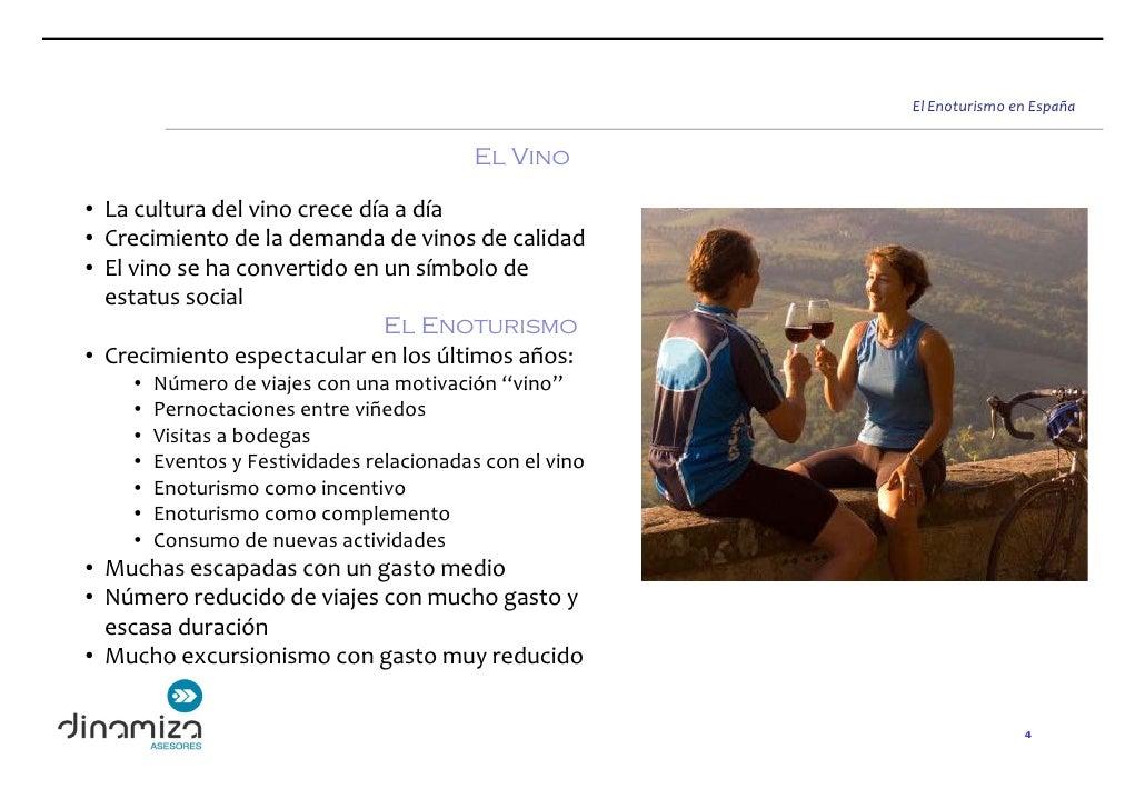ElEnoturismoenEspaña                                             El Vino  • Laculturadelvinocrecedíaadía • Creci...