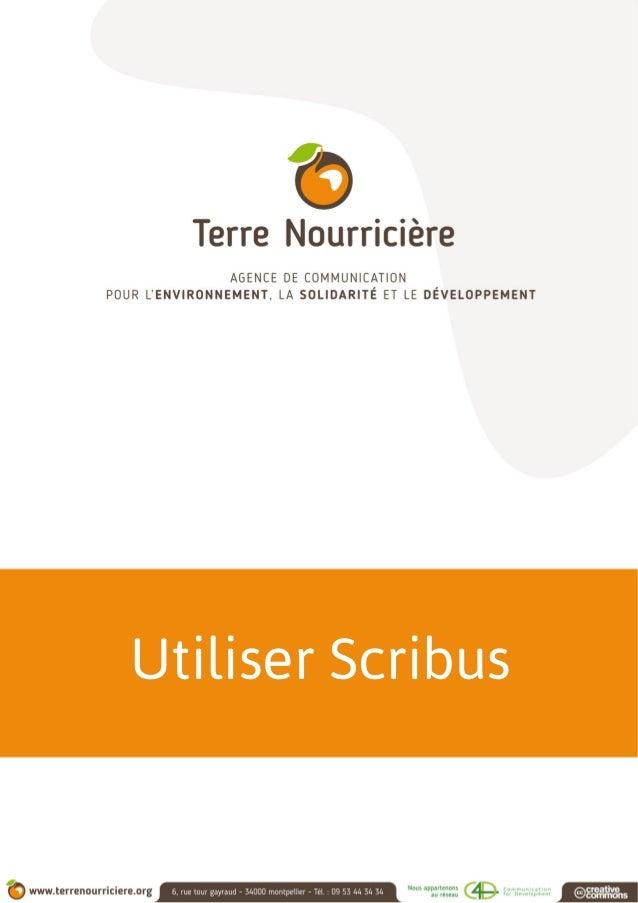Utiliser Scribus