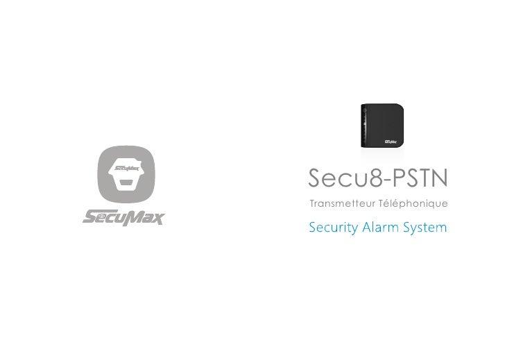 Secu8-PSTNTransmetteur Téléphonique