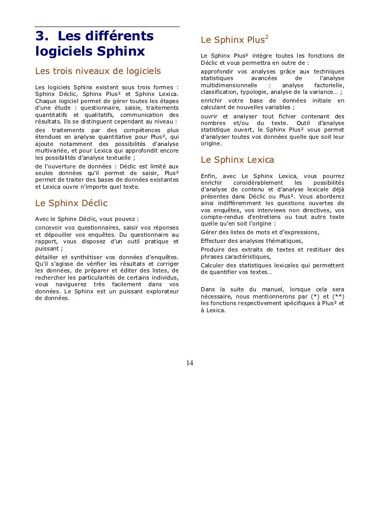 LEXICA V5 SPHINX TÉLÉCHARGER