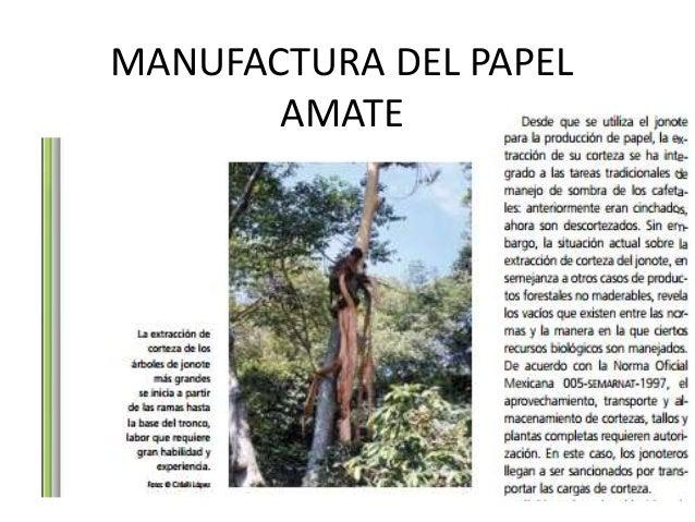 MANUFACTURA DEL PAPEL AMATE