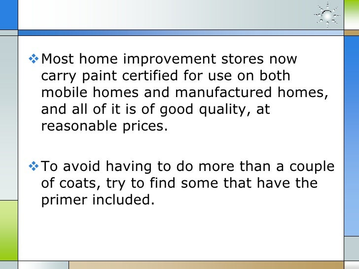 Mobile Home Values >> Manufactured Home Exterior Improvements Cost Less And