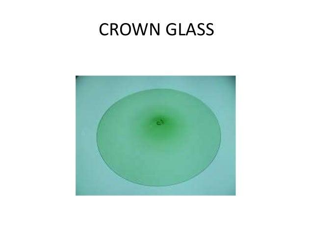 COMPOSITION OF BARIUM CROWN GLASS