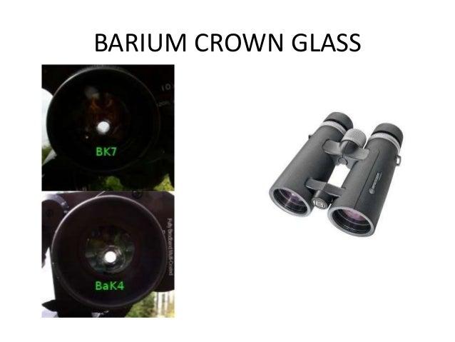BOROSILICATE CROWN GLASS